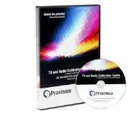 Proximus TECHHDTV TV and Audio Calibration Toolkit - DVD, Standard and High Definition Television Calibration Disc