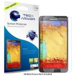 Tech Armor GALAXY NOTE 3 HD Clear + IMPACT Screen Protectors - SP-8HHD-SAM-GN3-1