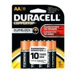 Duracell CopperTop AA Battery 8pk - MN1500B8Z