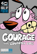 COURAGE THE COWARDLY DOG:SSN1 - DVD Movie