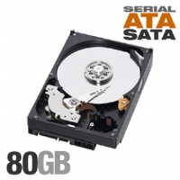 "WD WD CAVIAR 80 GB 3.5"" HARD DRIVE - SATA - 7200 - 8 MB BUFFER - HOT SWAPPABLE - 1 PACK - OEM DISC PROD SPCL SOURCING SEE (WD800JD)"