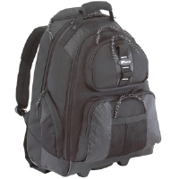 Targus TSB700 Rolling Notebook Backpack - Fits Notebook PCs up to 15.4""