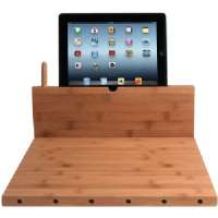 CTA PAD-BCBS IPAD AIR(TM)/IPAD(R) WITH RETINA(R) DISPLAY/IPAD(R) 3RD GEN/IPAD(R) 2/IPAD MINI(TM) and KNIFE STORAGE BAMBOO CUTTING BOARD WITH STAND