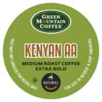 Green Mountain Coffee Roasters Kenyan AA Coffee - Regular - Full/Extra Dark/Extra Bold - K-Cup - 24 / Box