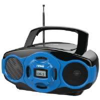 PORTABLE CD/MP3 MINI BOOM BOXES and USB PLAYER (BL