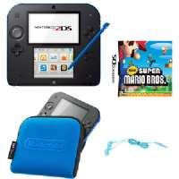 Nintendo 2DS - Electric Blue with New Su