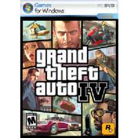 Grand Theft Auto IV DVD