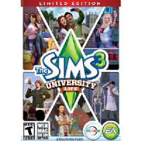Sims 3:University Life Exp.Pk.PC/MAC