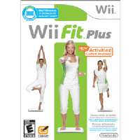 Wii Fit Plus-game only