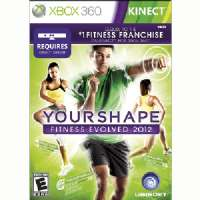 Kinect Your Shape Fitness Evolved 2012PH
