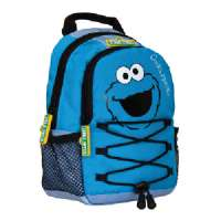 DS/i/XL Sesame Street Backpack - Cookie Monster