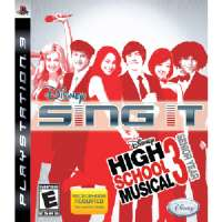 Disney Sing It:HSM 3-game only