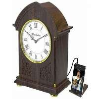 Timeless Vintage Style Alarm Clock with MP3/iPod, Digital Radio, and Alarm