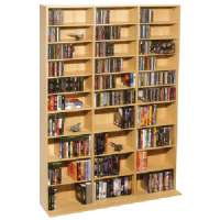 ATLANTIC 38435715 OSKAR 1080-CD MULTIMEDIA STORAGE CABINET
