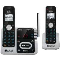 ATT ATTTL92271 DECT 6.0 TWO-HANDSET PHONE WITH CALLER ID and ANSWERING SYSTEM