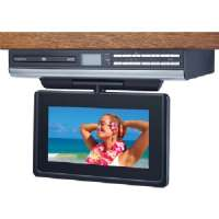 "Audiovox VE927 9"" TV/DVD Combo - 9"" Screen, Drop Down, ATSC, NTSC, 16:9, Stereo Sound, HDTV, DVD-R, CD-R, CD-RW, MP3 - VE927"