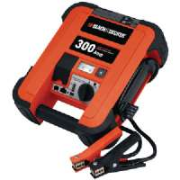 BLACK and DECKER JUS300B 300-AMP JUMP STARTER