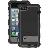 BALLISTIC HC0956-M345 IPHONE(R) 5 HARD CORE SERIES CASE (BLACK/CHARCOAL)