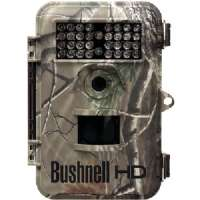 BUSHNELL 119447C 8.0 MEGAPIXEL TROPHY HD CAMO NIGHT-VISION TRAIL CAMERA WITH FIELD SCAN