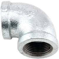 "ZMGL9004 90deg GALVANIZED ELBOW (3/4"")"