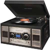 CROSLEY RADIO CR2413A-BK MEMORY MASTER II CD RECORDER (BLACK)
