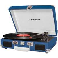 CROSLEY RADIO CR8005A-BL CRUISER TURNTABLE