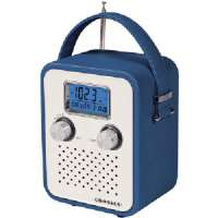 CROSLEY RADIO CR8006A-BL SONGBIRD ALARM CLOCK RADIO