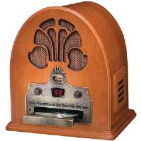 CROSLEY RADIO CR32CD CATHEDRAL RADIO WITH CD PLAYER