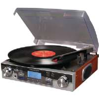 CROSLEY RADIO CR6007A-MA TECH TURNTABLE RECORDER