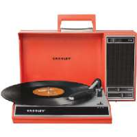 CROSLEY RADIO CR6016A-RE SPINNERETTE TURNTABLE (RED)