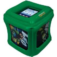 CTA DIGITAL NIC-TIC UNIVERSAL IPAD(R) TEENAGE MUTANT NINJA TURTLES(R) INFLATABLE PLAY CUBE