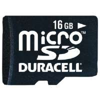 DURACELL DU-3IN1-16G-C MICRO SECURE DIGITAL CARD(TM) WITH UNIVERSAL ADAPTER (16 GB)