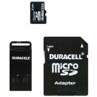 DURACELL DU-3IN1-32G-C MICRO SECURE DIGITAL CARD(TM) WITH UNIVERSAL ADAPTER (32 GB)
