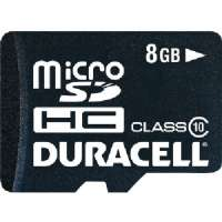 DURACELL DU-3IN1C1008G-C MICROSD(TM) CARD WITH UNIVERSAL ADAPTER (8GB)