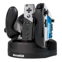 DREAMGEAR DGWIIU-4323 WII U(TM) QUAD DOCK REVOLUTION