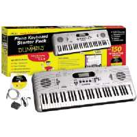 FOR DUMMIES FD05107 PIANO FOR DUMMIES 61-KEY KEYBOARD STARTER PACK