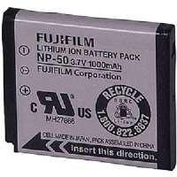 FUJI 15764041 FUJIFILM(TM) NP-50 REPLACEMENT BATTERY