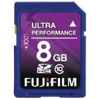 FUJIFILM 600008927 CLASS 10 SECURE DIGITAL HIGH-CAPACITY(TM) CARD (8 GB)