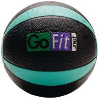 GOFIT GF-MB4 MEDICINE BALL BLACK and GREEN)