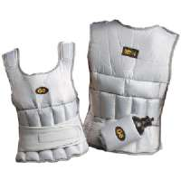 GOFIT GF-WV10 10-LB UNISEX ADJUSTABLE WEIGHTED VEST