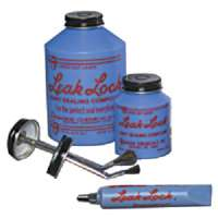10016 Leak Lock (16 oz brush top plastic jar)