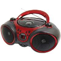 PORTABLE STEREO CD PLAYER WITH AM/FM STE