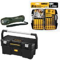 TOOLS, DRILL ACCESSORIES, TOOL BOX