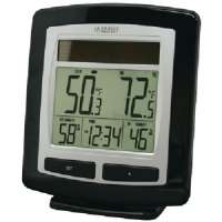 LA CROSSE TECHNOLOGY WS-6010U-IT-CBP SOLAR TEMPERATURE and HUMIDITY STATION
