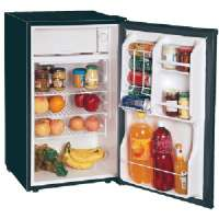 MAGIC CHEF MCBR360B 3.6 CUBIC-FT REFRIGERATOR (BLACK)