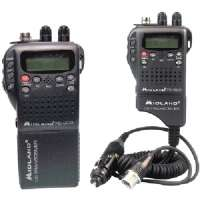 MIDLAND 75-822 HANDHELD 40-CHANNEL CB RADIO WITH WEATHER/ALL-HAZARD MONITOR and MOBILE ADAPTER