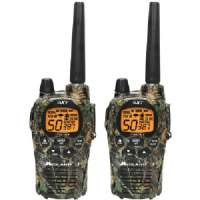 MIDLAND GXT1050VP4 50-CHANNEL CAMO GMRS RADIO PAIR PACK WITH B ATTERIES and DROP-IN CHARGER