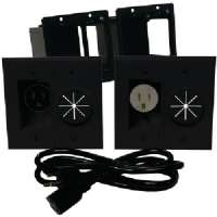 MIDLITE A2GESR-B POWER+PORT(TM) HDTV POWER SOLUTION KIT (BLACK)