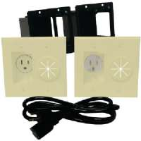 MIDLITE A2GESR-I POWER+PORT(TM) HDTV POWER SOLUTION KIT (IVORY)