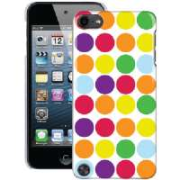 THE MACBETH COLLECTION MB-T5CRG IPOD TOUCH(R) 5G PC CASE (RAINBOW GUMBALL)